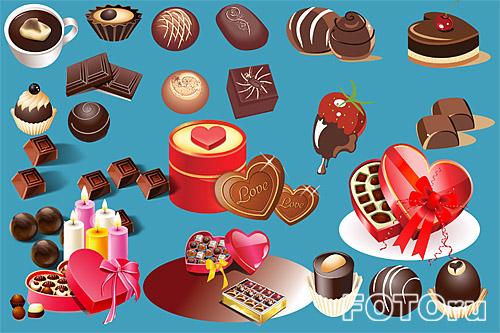 конфеты клипарт: